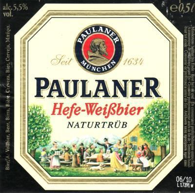 Paulaner Hefe Weisse