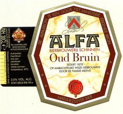 Alfa Oud Bruin